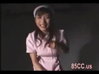 【立花里子】美人痴女ナースが患者にエロすぎるM男診察